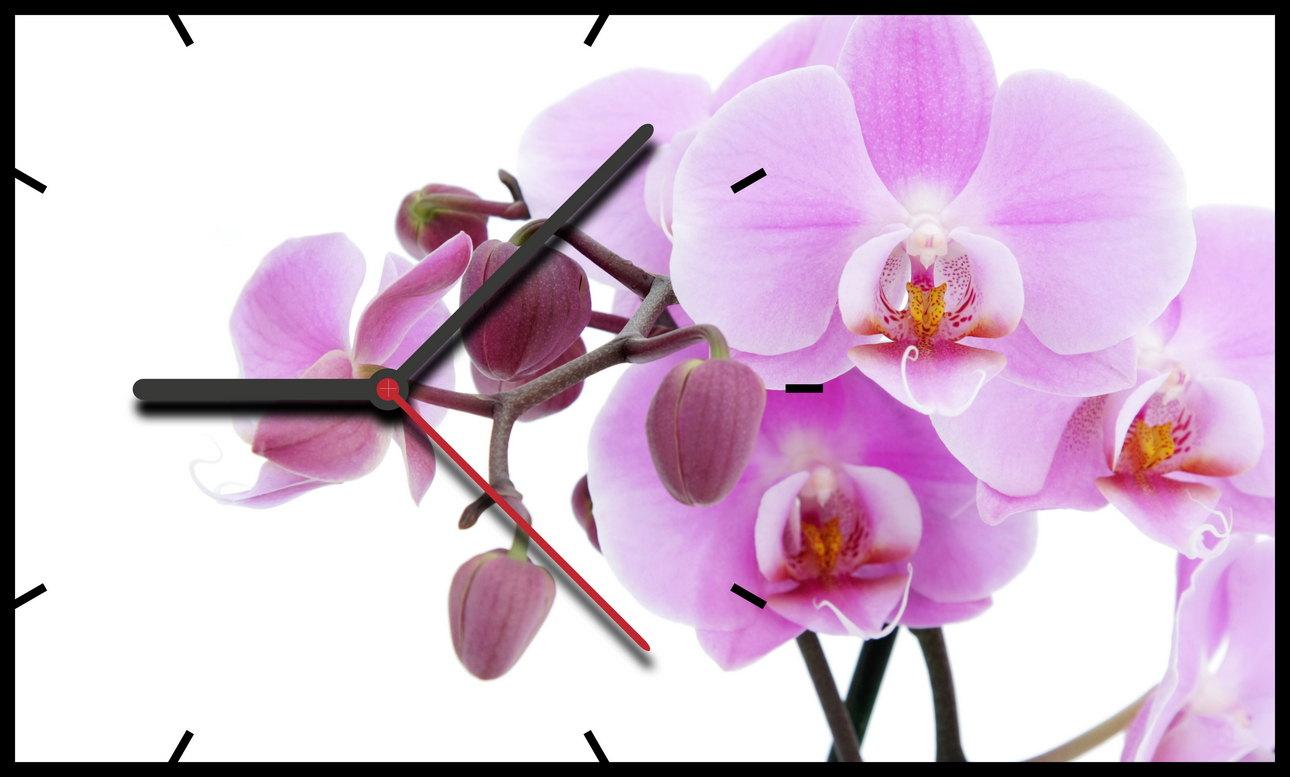 Часы сиреневая Орхидея